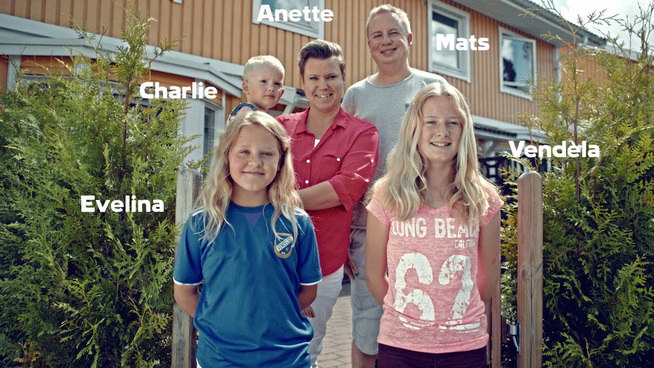 """""""The Organic Effect"""" COOP Experiment – showing eat organic food and pesticides disappear from body – with Sweden Environmental Research Institute (IVL) and an ordinary family, the Palmbergs. Documented in a scientific report – big news media coverage, and a 90-sec film – went viral. Organic food sales up 50% while film released. Consumers who say prefer shopping at Coop up 14%. Coop's best financial year in two decades."""