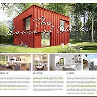 """<strong>&quot;The House of Clicks&quot;</strong><br /><strong>Hemnet - Prime Stockholm</strong> <br />Hemnet is Sweden's biggest property portal. Data scientists analysed over 200m clicks on Hemnet about what Swedes dream about in a future home. And two of Europe's foremost architects created """"The House of Clicks"""" – a 1.5 storey home with red wooden façade and private rooftop terrace. 648 people from around the world have signed up to buy the house when it comes onto the market."""