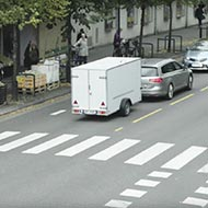<strong>&quot;The Reversed Trailer&quot;</strong><br /><strong>Volkwagen Passat Trailer Assist - TRY Oslo</strong> <br />To explain and demonstrate Trailer Assist: a stunt where a trailer tows a Passat through town with all sorts of manoeuvring and at normal traffic speed. Online audience could book a test drive. In following month Passat sales in Norway up 15%.